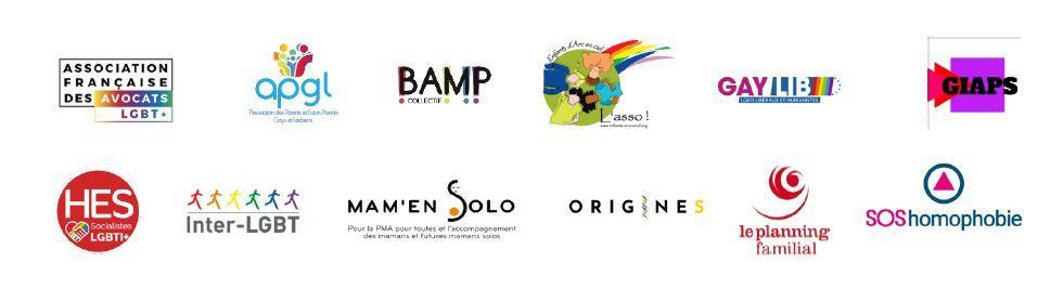 Logos interassociatifs - PMA pour toutes