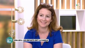 Isabelle Laurans dans l'emission Le Monde en face sur France 5